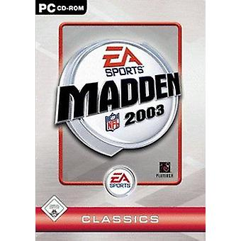 Madden NFL 2003 (PC) (used)