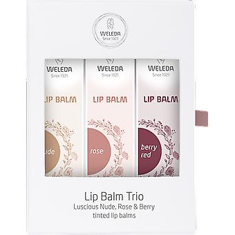 Weleda Tinted Lip Balm Gift Set