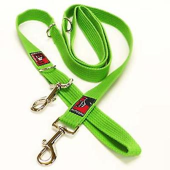 Black Dog Double Ended Lead (Reg) Green