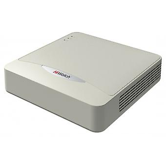 HiWatch DS N204 4-channel NVR, up to 4MP, ONVIF, h.264 +,