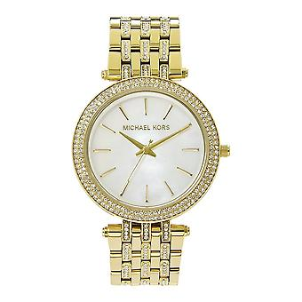 Michael Kors Watches Mk3219 Darci Gold Tone Glitz Stainless Steel Ladies Watch