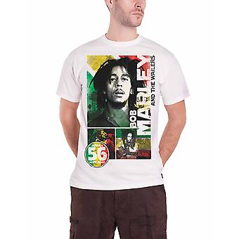 Bob Marley T Shirt 56 Hope Road Rasta Jamaica new Official Mens White