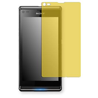 Sony Xperia L screen protectors - Golebo view protective film protective film