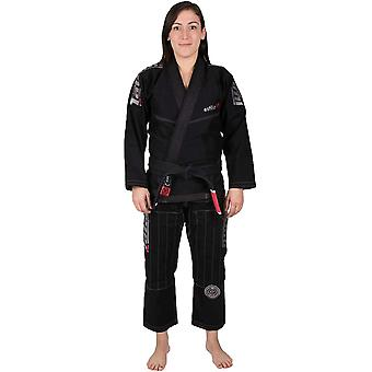 Tatami Fightwear Ladies Estilo 6.0 Premium BJJ Gi - Black/Gray