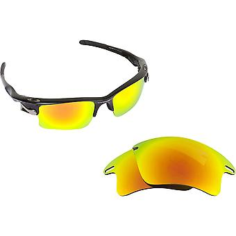 Fast Jacket Replacement Lenses Polarized Gold by SEEK fits OAKLEY Sunglasses