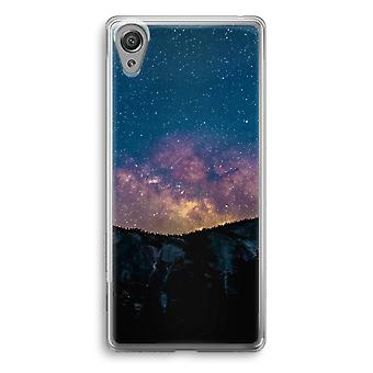 Sony Xperia XA1 Transparent Case - Travel to space