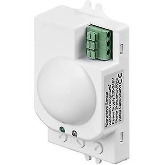 Goobay 96011 Ceiling HF motion detector 360 ° Relay White IP20