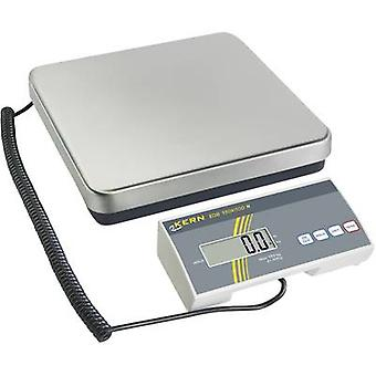 Parcel scales Kern Weight range 60 kg Readability 20 g