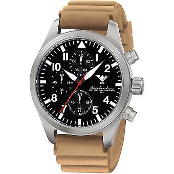 KHS mens watch Airleader Steel Chronograph KHS. AIRSC. DT