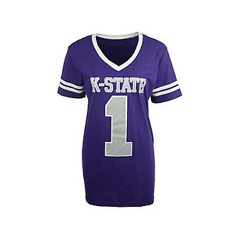 Kansas State Wildcats NCAA Press Box V-Neck tröja Tee