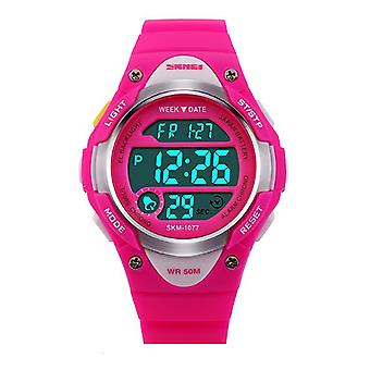 SKMEI Boys Blue Digital Watch 50m Water Resistant With Stopwatch Alarm Perfect For Ages 5-13