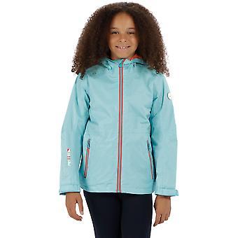 Regatta Boys & Girls Feargus Waterproof Mesh Breathable Coat Jacket