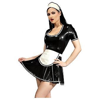 Westward Bound Demure Maid Latex Rubber Uniform.