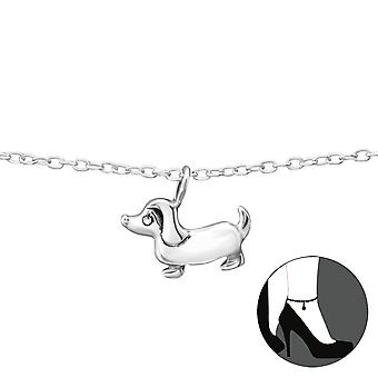Dog - 925 Sterling Silver Anklets - W35071x