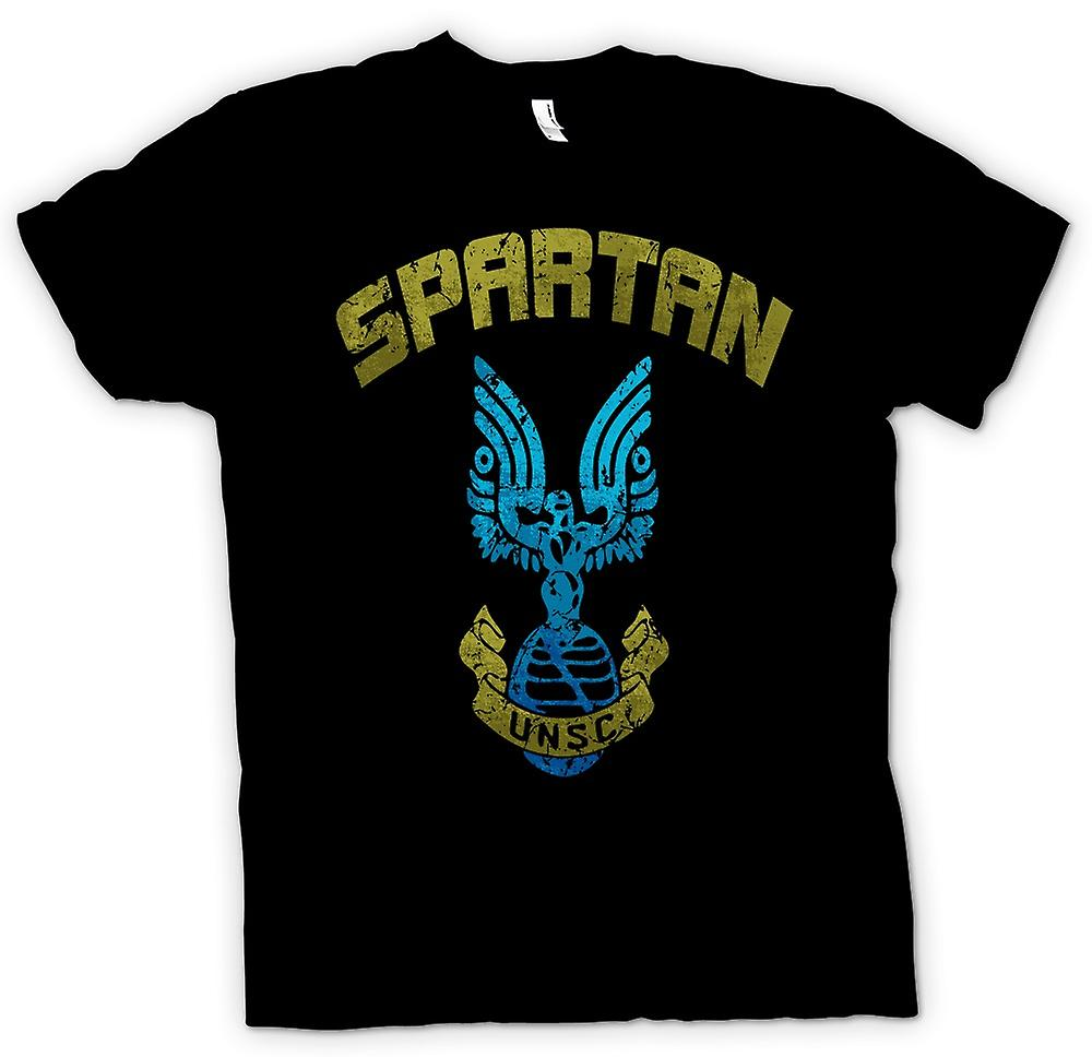 Womens T-shirt - Spartan UNSC - Gamer