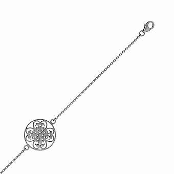 Orphelia Silver 925 Bracelet Circle Black  ZA-6035/3