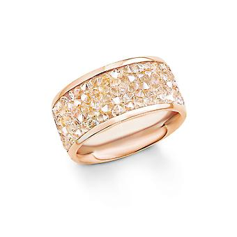 s.Oliver jewel ladies ring stainless steel Rosé gold SO1358