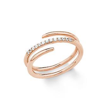 s.Oliver Jewel Damen Ring Silber Rosé Zirkonia 201862