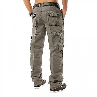 Pantalones del cargo pantalones del trabajo pantalones jeans sueltos Ajuste Chinohose cargo dromedario