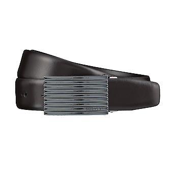 Correa de cuero cinturones de Strellson cinturones hombres Brown 3840