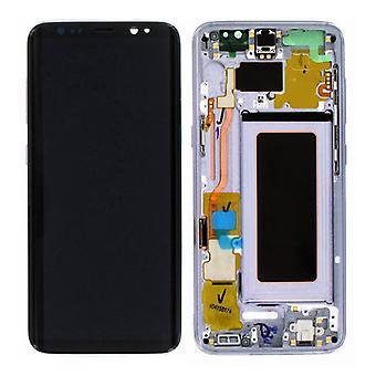 Display LCD Komplettset GH97-20457C Lila für Samsung Galaxy S8 G950 G950F