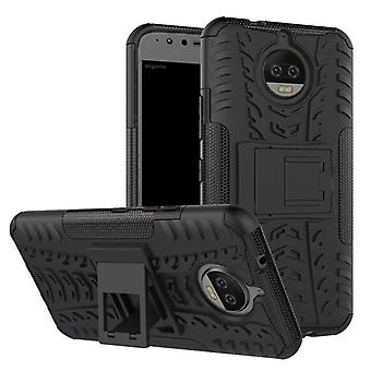 Hybrid case 2 piece SWL outdoor black for Motorola Moto G5S plus bag case cover