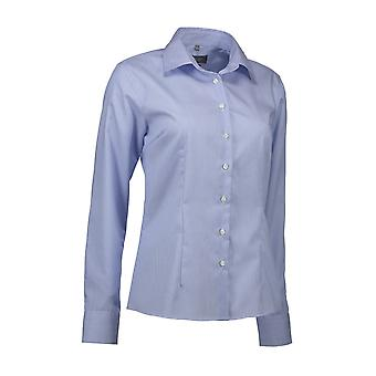 ID Womens/Ladies Fine Twil Shirt California Modern Fit