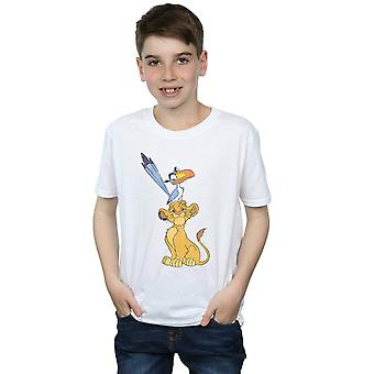 Disney Boys The Lion King Simba And Zazu T-Shirt