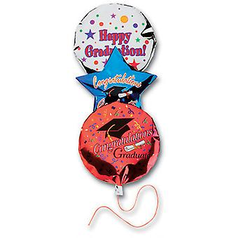 Jolee's Boutique Dimensional Stickers-Graduation Balloons