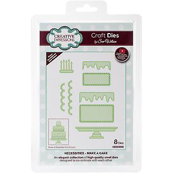 Creative Expressions Craft Dies By Sue Wilson-Necessities-Make A Cake 2.36