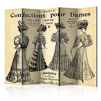 Rumdeler - konfekt hæld Dames II [værelse delelinjer]