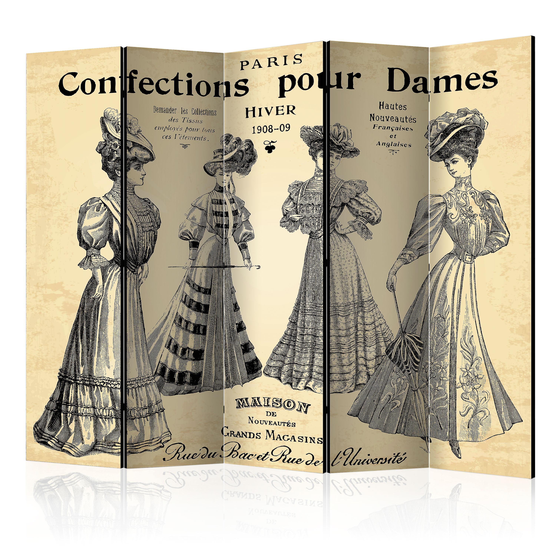 Paravent 5 volets - Confections pour Dames II [Room Dividers]