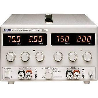 TTi の EX752M ベンチ PSU (調節可能な電圧) を目指して - 150 Vdc 0 - 0 2 A 300 W 号出力 2 の x