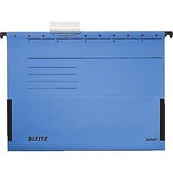 Leitz Suspension binder Alpha A4 Blue 5 pcs/pack. 19863035 1 pack