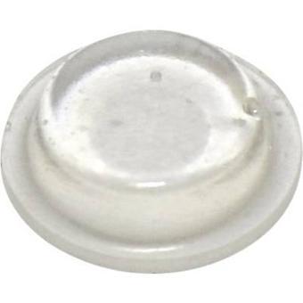 TOOLCRAFT PD2125C Fuß selbstklebend, kreisförmige Transparent (Ø x H) 12,7 x 3,5 mm 1 PC