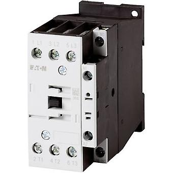 Eaton DILM17-10(RDC24) Contactor 1 pc(s) 3 makers 7.5 kW 24 Vdc 18 A + auxiliary contact