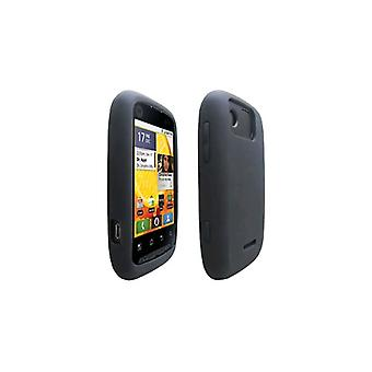 OEM Verizon Silicone Case for Motorola Citrus WX445 (Black) (Bulk Packaging)