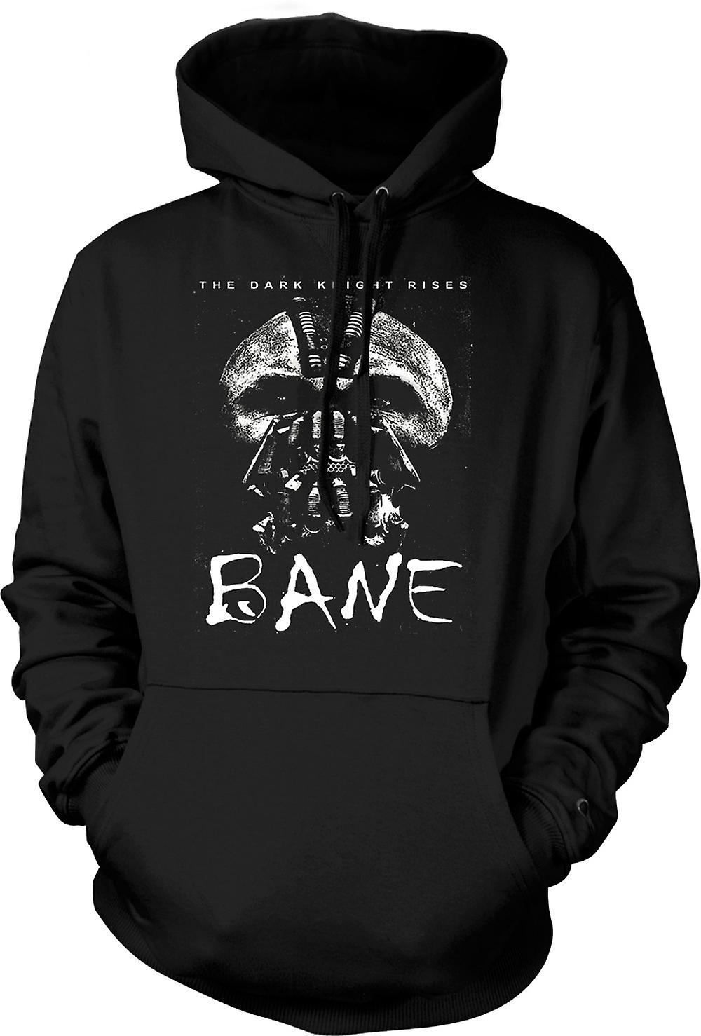 Mens Hoodie - Batman The Dark Knight - Bane