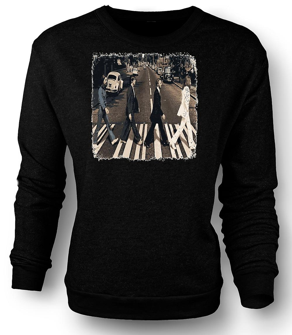 Copertina dell'Album dei Beatles - Abbey Road - Mens Sweatshirt