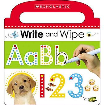 Write and Wipe ABC 123 (Scholastic Early Learners)