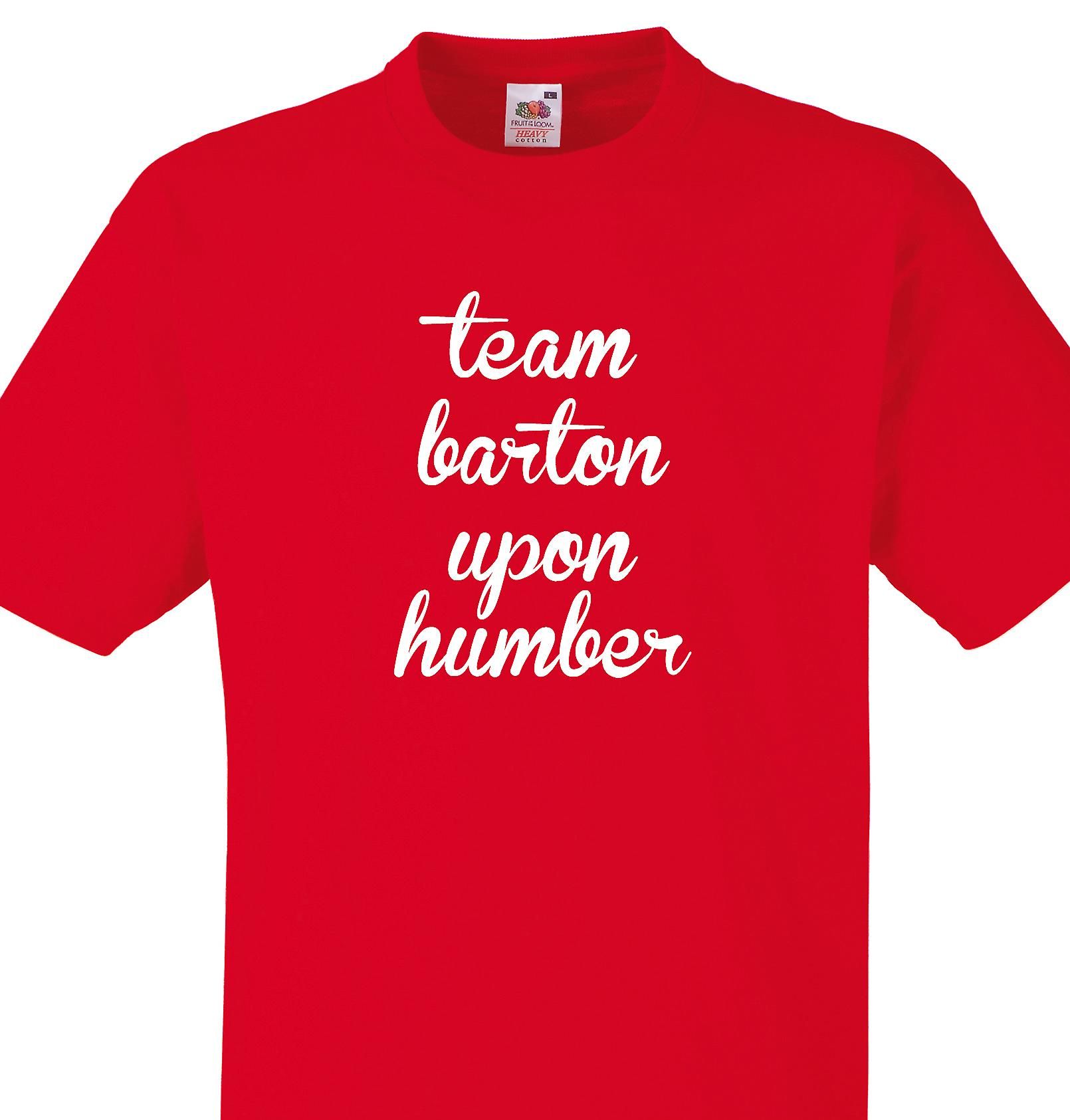Team Barton upon humber Red T shirt