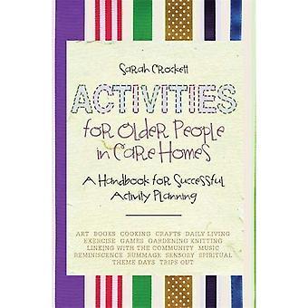 Activités pour les personnes âgées dans les maisons de soins