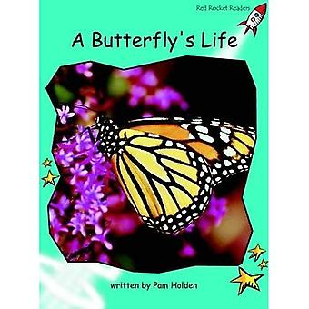 A Butterfly's Life: Level 2: Fluency (Red Rocket Readers: Non-fiction Set A)
