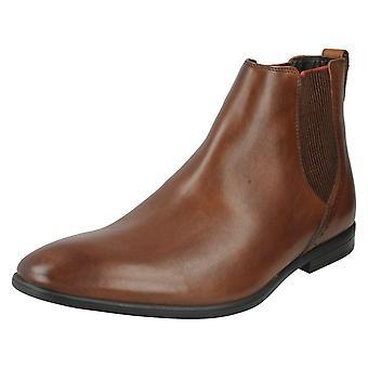 Men's Clarks Formal Chelsea Boots Bampton Top