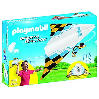 Playmobil 9206 Outdoor Action Yellow Hang Glider