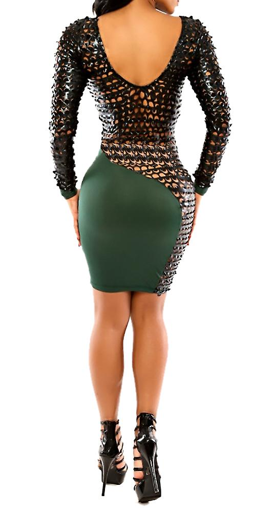 Waooh - Short Dress openwork Edda