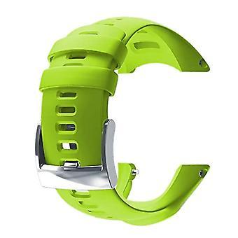 Suunto Ambit3 Run Silicone, Unisex-Strap Adult, Lime, One Size
