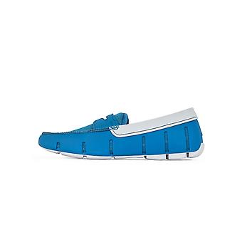Swims Swims Seaport Blue & Alloy Penny Loafer