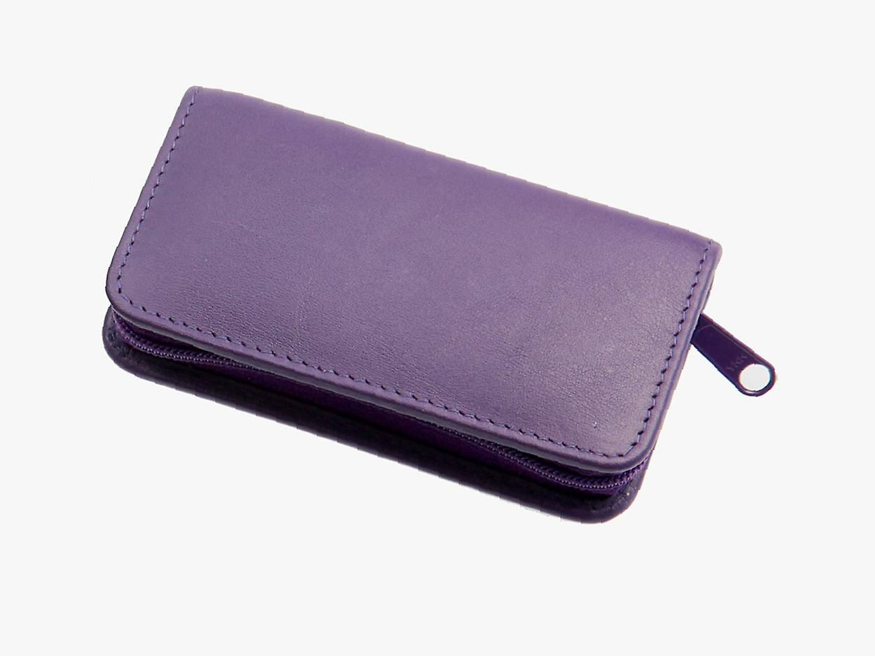 Sonnenschein Germany Travel Leather Manicure Set Lilac