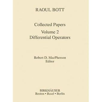 Raoul Bott recueillies papiers opérateurs différentiels par Bott & Raoul